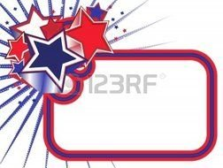 Red White And Blue Banner Clipart 9917622 Stars