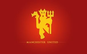 clipart of the Manchester United Red Devil Logo