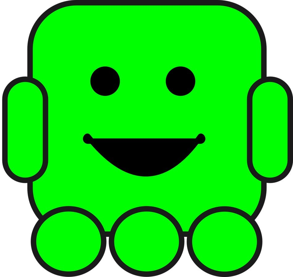Robot Clip Art drawing
