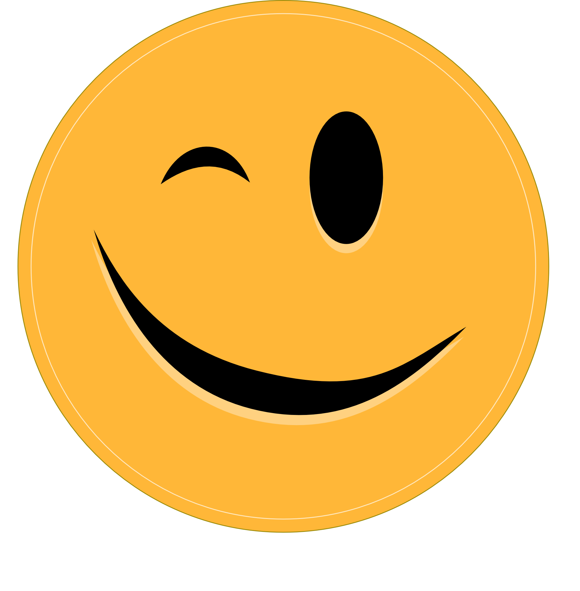 Картинка улыбочка смайлик, днем