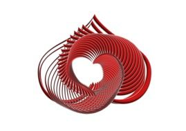 heart shaped spiral