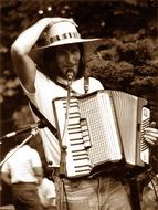 accordion music man romance