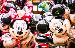 mickey mouse balloons in disney