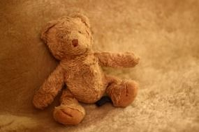 Light brown teddy bear
