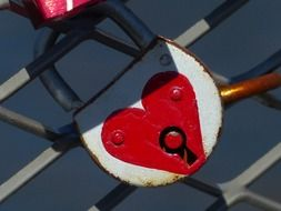 padlock is a symbol of eternal love