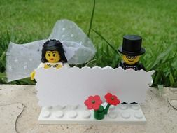 Lego couple