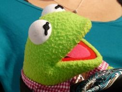 kermit frog green doll