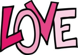 Headline of Love clipart