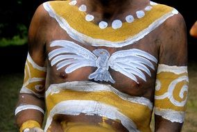 ritual body painting