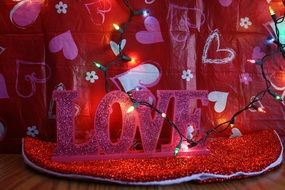 romantic decorations for Valentine's Day