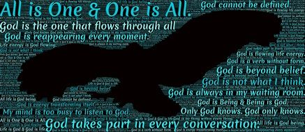 spiritual oneness all is one & one is all