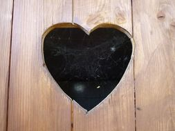 heart door wood toilet cobweb