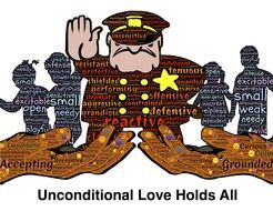 unconditional love holds all