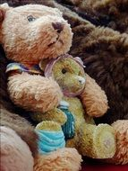 Brown bear soft toy