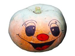 pumpkin funny face drawing