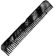 Hair Brush And Comb Clip Art darwing