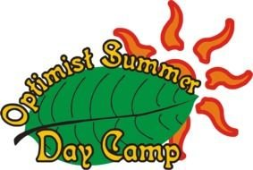 Clip Art of the Summer Day Camp Logo