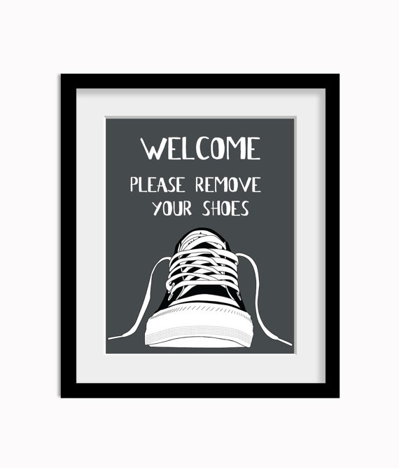 picture regarding Please Take Off Your Shoes Sign Printable referred to as Be sure to Get rid of Your Footwear Indicator Printable free of charge graphic