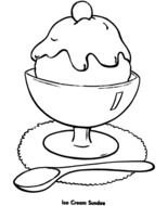 clipart of the ice cream