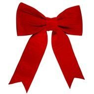 Red Christmas Bow Clip Art N7