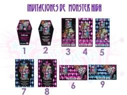 Colorful 'Invitaciones De Monster High' clipart
