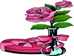 Rose Clip Art drawing