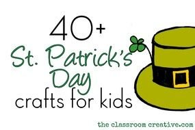 clipart of the St Patricks Day Kids