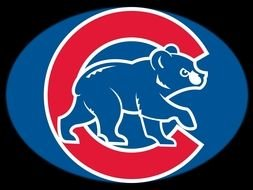 Chicago Cubs bear Logo drawing