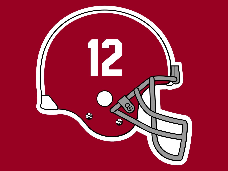 Alabama Crimson Tide Football Helmet Free Image