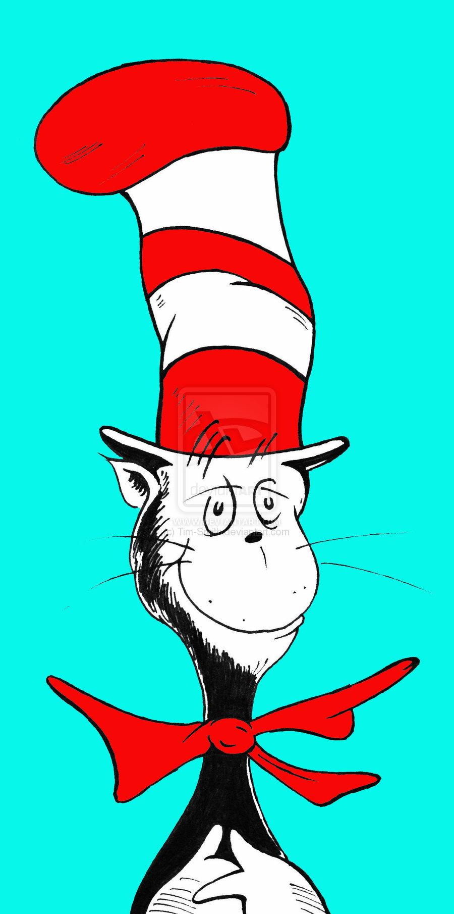 cat in the hat clip art - HD900×1810