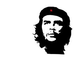 Che Guevara face drawing