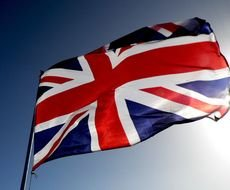 British Union Jack Flag drawing