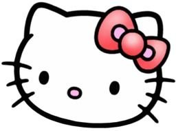 Small Hello Kitty drawing