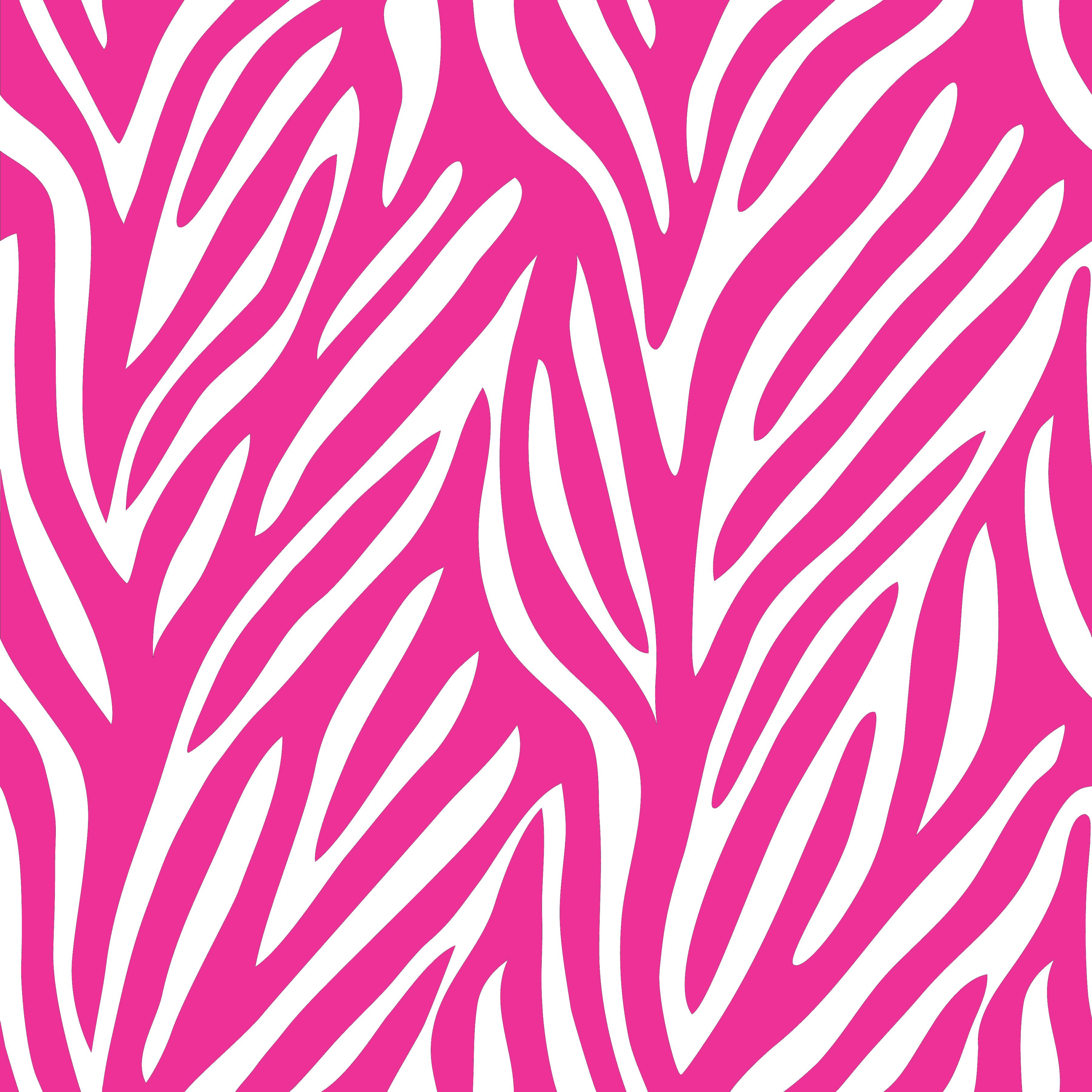 Drawing Of Pink Zebra Background Free Image Download