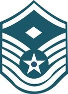 logo for the United States Air Force enlisted rank insignia