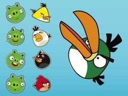 Angry Birds Vectors drawing