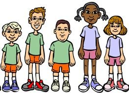 Kids Group Clip Art Free