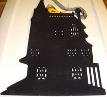 Haunted House, Silhouette, halloween decoration