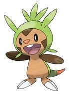 Pokemon Chespin drawing