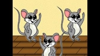 Three Blind Mice Clip Art N4 free image