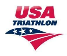 USA Triathlon Logo drawing