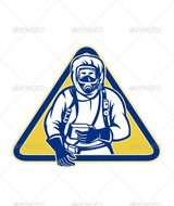 Hazmat Suit Cartoon N4