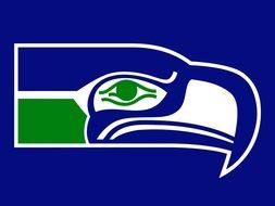 eagle Seahawks Logo drawing