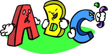 abc Clip Art drawing