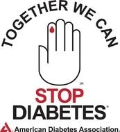 American Diabetes Association Logo drawing
