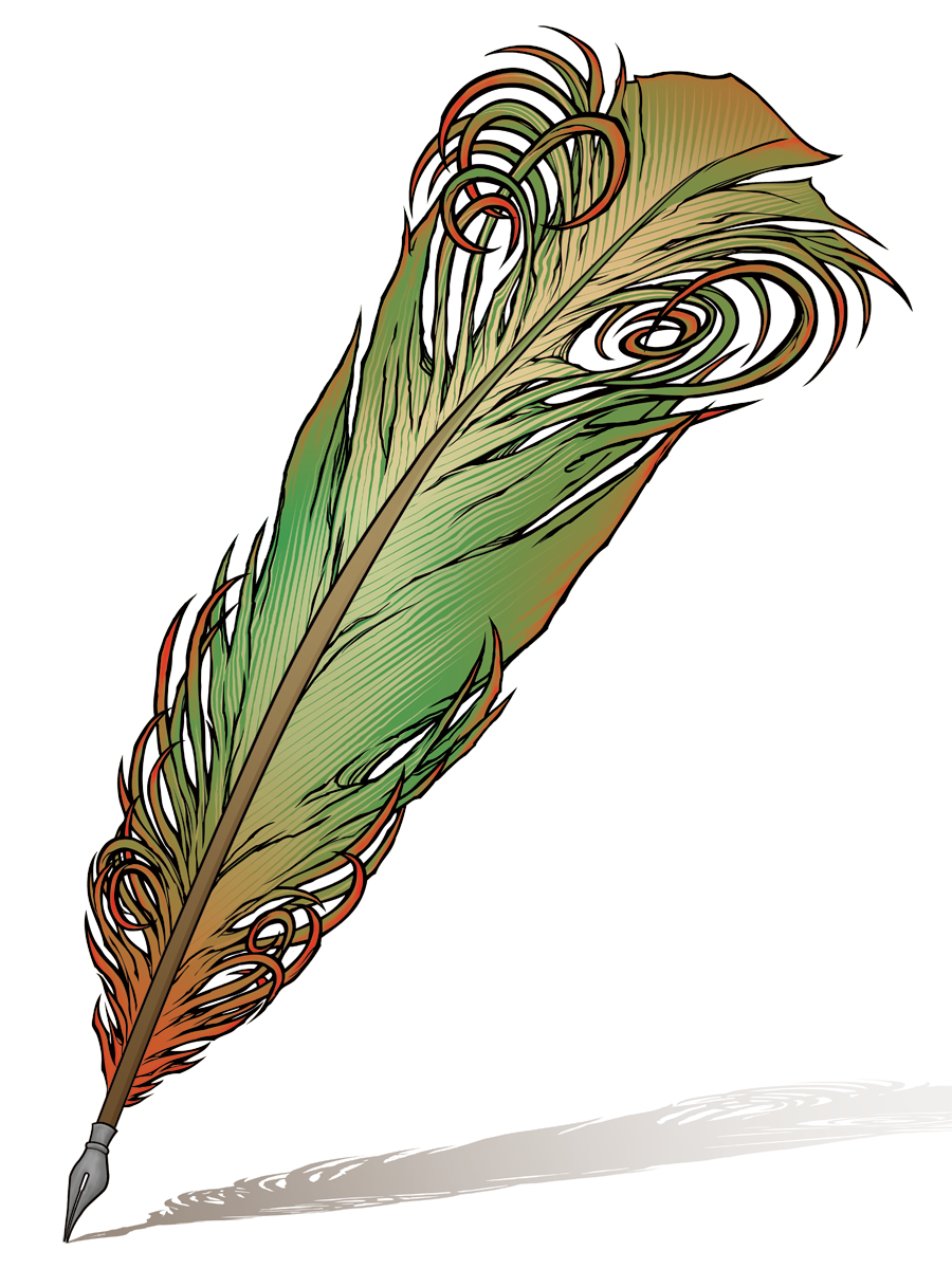feather quill pen clipart free image feather quill pen clipart free image