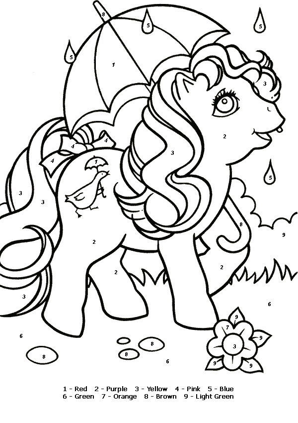 My Little Pony Coloring Page Drawing Free Image