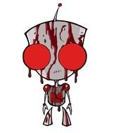 Invader Zim Bloody GIR