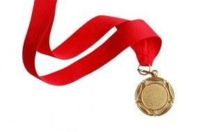 Red Ribbon Gold Medal