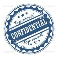 Top Secret Confidential Stamp N3